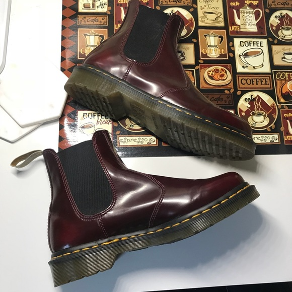 e61c65ccbeb Doc martens Vegan 2976 cherry red